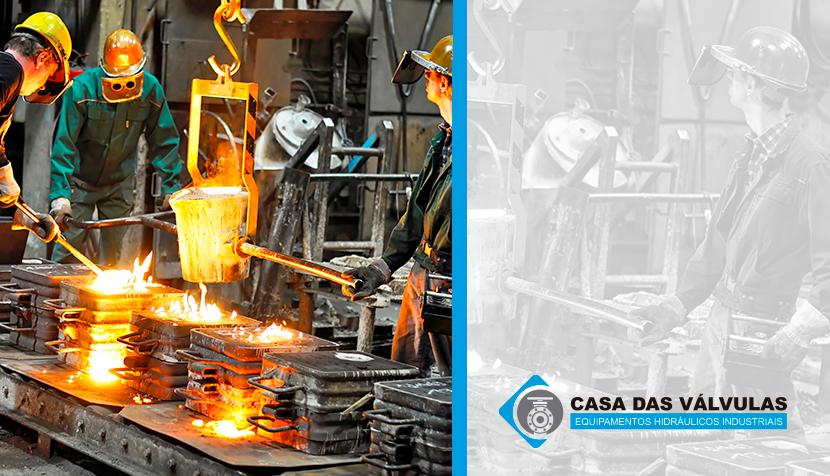 Etapas siderúrgicas: os principais processos de um alto forno