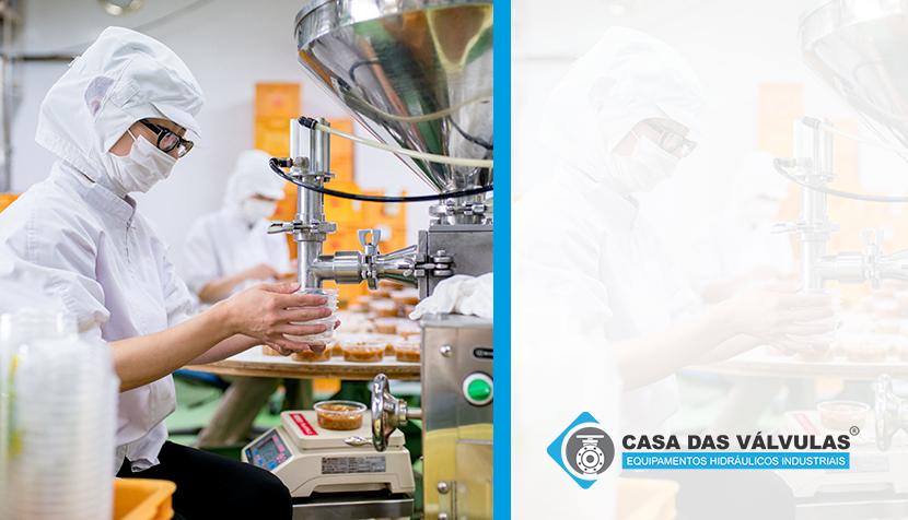 Indústria alimentícia: melhores válvulas para aplicação no setor
