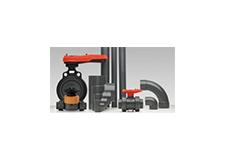 Tubulações e válvulas de PVC Schedule 80