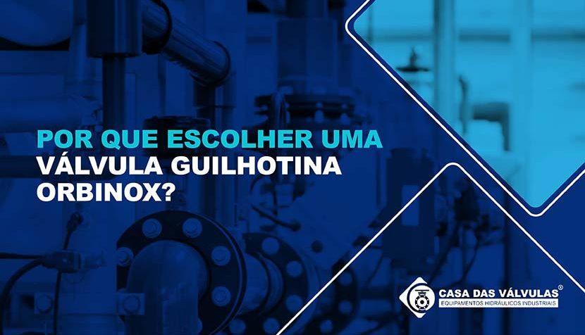 Por que escolher uma Válvula Guilhotina Orbinox?
